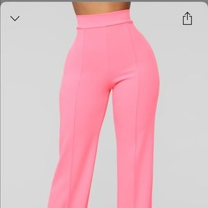 Fashion nova Victoria high wasted pants